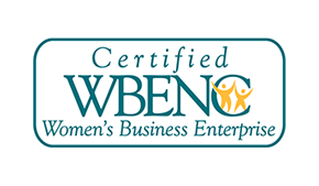 Certified WBENC Women's Business Entreprise
